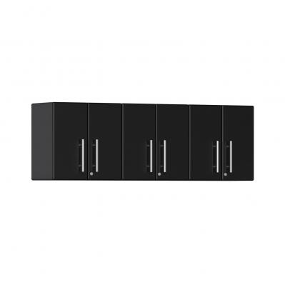 Ulti-MATE Garage 2.0 Series 3-Piece Wall Cabinet Kit Midnight Black