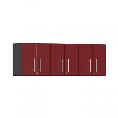 Ulti-MATE Garage 2.0 Series 3-Piece Wall Cabinet Kit Ruby Red Metallic