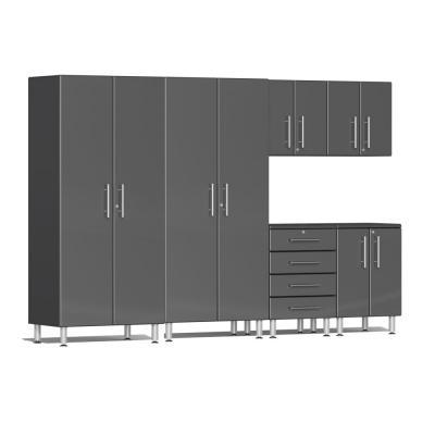 Ulti-MATE Garage 2.0 Series 6-Piece Kit Graphite Grey