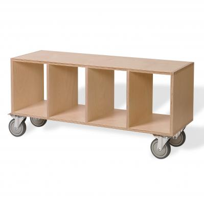 BBox4 - Birch with casters