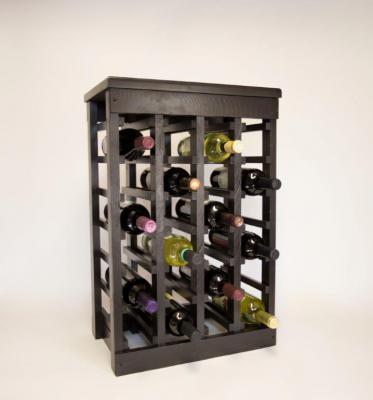 Classic Wood Wine Rack - 24 Bottle