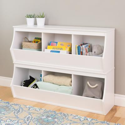 Monterey Stacked 6-Bin Storage Cubby