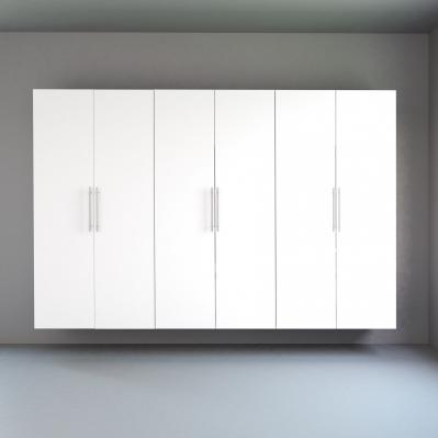 White HangUps 108 inch Storage Set K - 3pc