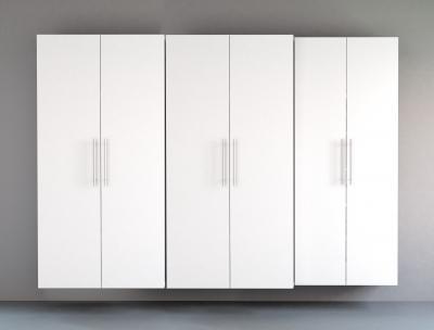 White HangUps 102 inch Storage Set L - 3pc