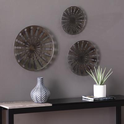 Wassleby Round Wall Art - 3pc Set