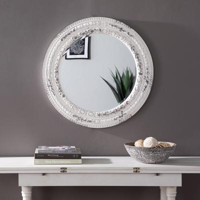 Carvely Round Decorative Mirror