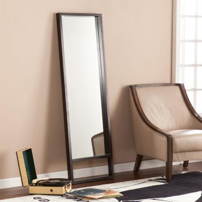 Jaxon Leaning Mirror - Ebony Stain