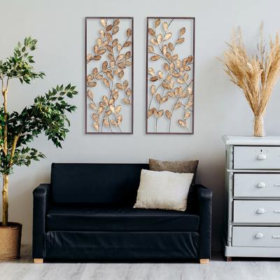 Binet Gold and Bronze 2-Piece Wall D»cor