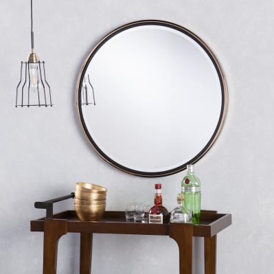 Holly & Martin Wais Round Wall Mirror