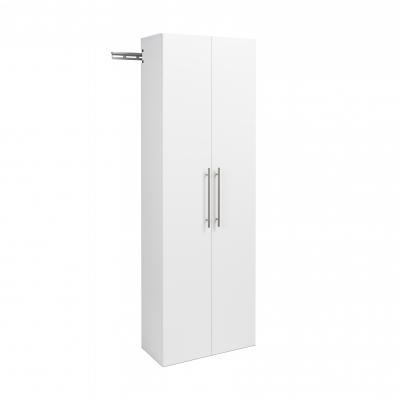 HangUps 24 inch Large Storage Cabinet, White