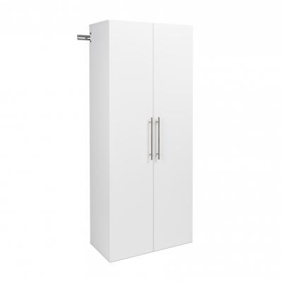 HangUps 30 inch Large Storage Cabinet, White