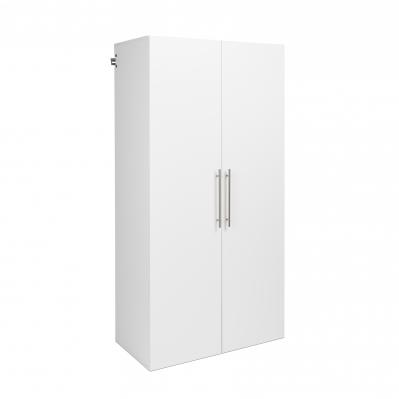 HangUps 36 inch Large Storage Cabinet, White