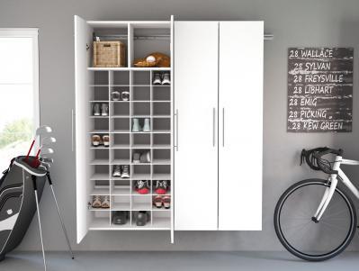 HangUps Shoe Storage, White