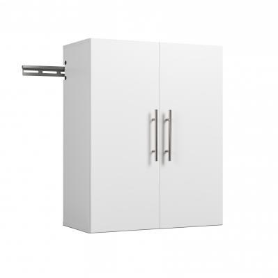 HangUps 24 inch Upper Storage Cabinet, White