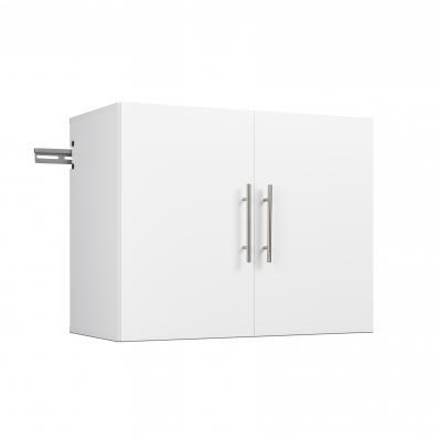 HangUps 30 inch Upper Storage Cabinet, White