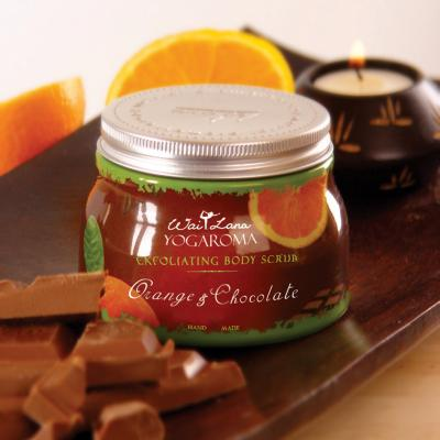 Exfoliating Body Scrub, Orange & Chocolate