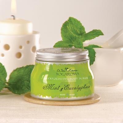 Exfoliating Body Scrub, Mint & Eucalyptus