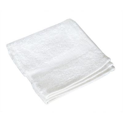Bamboo Wash Towel, Peony White