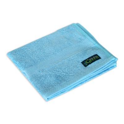 Bamboo Hand Towel, Coastal Blue