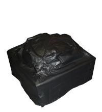 Outdoor square firepit vinyl cover