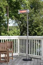 Stainless Steel Telescoping Offset Pole Mounted Infrared Patio Heater
