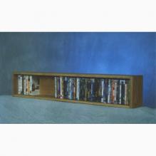 Model 110-4 W VHS & DVD Storage Rack