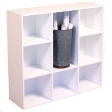 Project Center Bookcase white