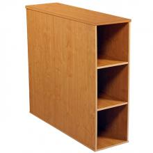 Project Center 3 Bin Cabinet oak