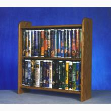 Solid Oak Cabinet for DVD's, VHS tapes, books and more