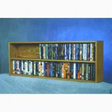 Model 210-4W VHS & DVD Storage Rack