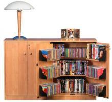 Double Multimedia TV Cabinet  oak
