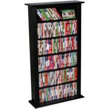 Media Storage Tower-Regular Single black