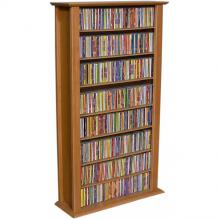 Media Storage Tower-Regular Single cherry