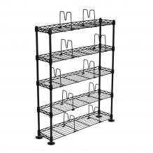 Atlantic Maxsteel 5 Tier Shelving Black
