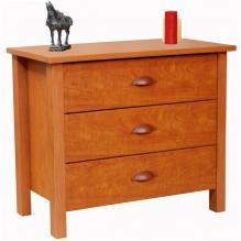 3 Drawer Nouvelle Chest cherry