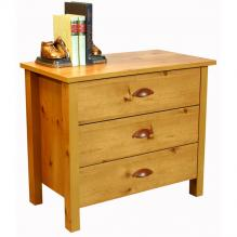 3 Drawer Nouvelle Chest oak