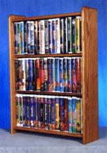 Solid Oak Cabinet For DVDu0027S Vhs Tapes Books And More  sc 1 st  HOME...and stuff & Solid Wood CD Storage DVD Storage CD Cabinet DVD Cabinet For ...