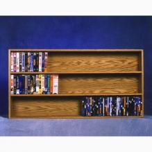 308-4 DVD + VHS Cabinet
