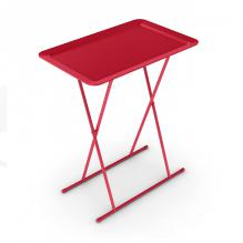 Snack Tray In Red  - 2 Pack