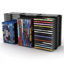 Black Disc Storage Module 45 Cd/21 DVD