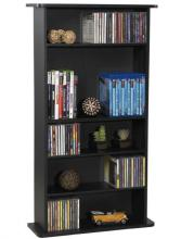 Drawbridge Wood Cabinet, Black
