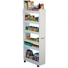 Thin Man Pantry Cabinet white