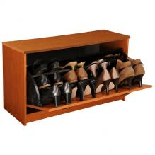 Single Shoe Cabinet cherry