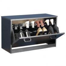 Single Shoe Cabinet black