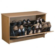 Single Shoe Cabinet oak