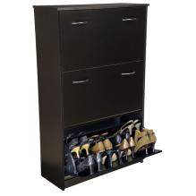 Triple Shoe Chest Racksncabinets