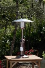 Tabletop Patio Heater   Copper Finish   39In H W/20In D Reflector