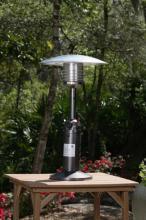 Tabletop Lpg  Heater - Old World Bronze Finish - 20 Inch Reflector