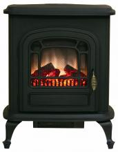 Stowe Electric Fireplace Stove, Blk, 1350 Watt