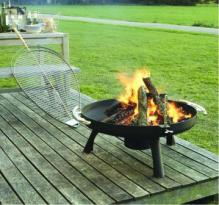 Space Firepit 800  (304 Stainless Steel)